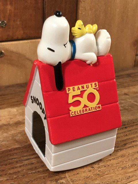 "Vintage Peanuts Snoopy ""50th Celebration"" Happy Meal Toy (3)"