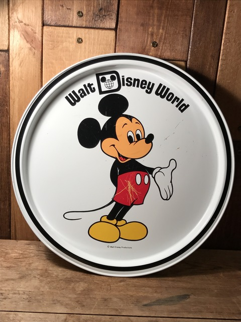 vintage disney world mickey mouse metal tray (23)