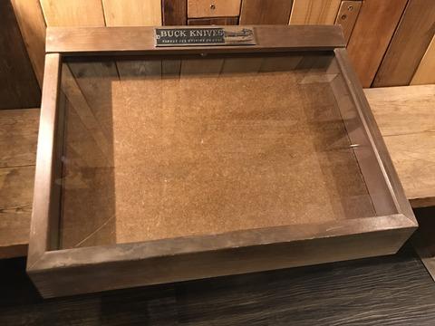 vintage buck knife display case (3)