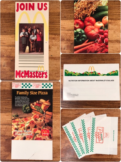 Vintage McDonald's Pamphlet
