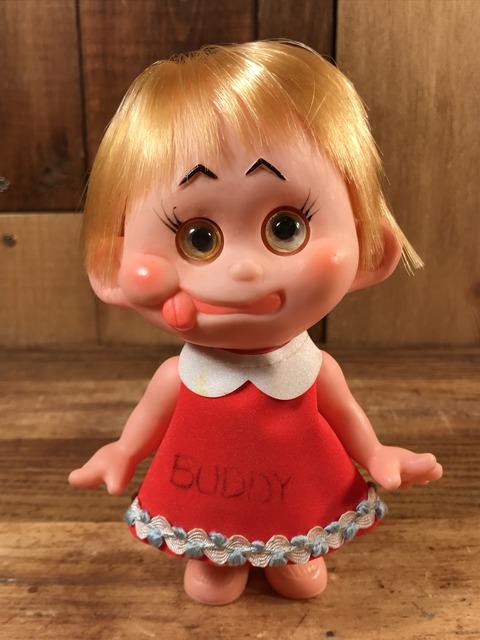 "Vintage ""Buddy"" Giggle Eyes Girl Doll (25)"