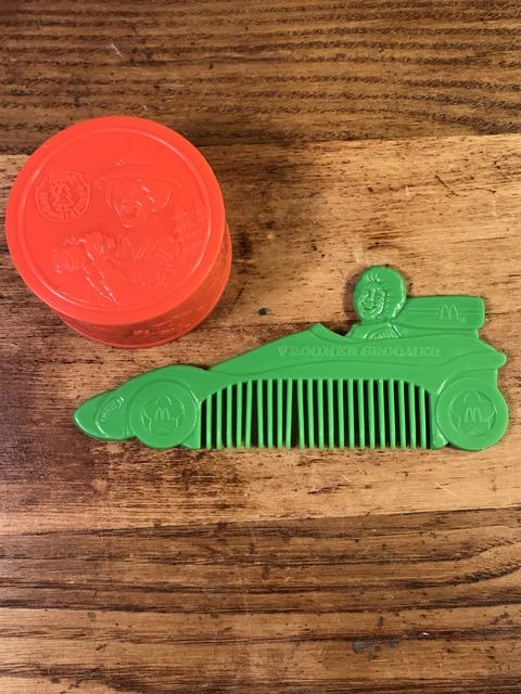 """Vintage McDonald's """"Vroomer Groomer"""" Plastic Comb"""