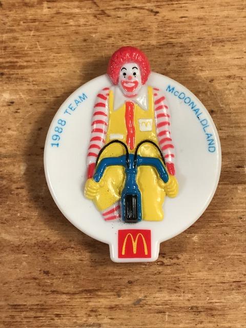 "Vintage McDonaldland ""Ronald"" Olympic Team Clip Badge (1)"