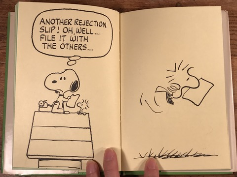Vintage The Collected Writings of Snoopy Picture Book (21)