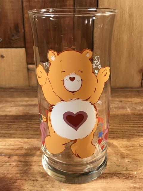 "Vintage Pizza Hut Care Bears ""Tenderheart Bear"" Glass (1)"