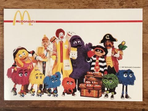 Vintage McDonald's Character Postcard (17)