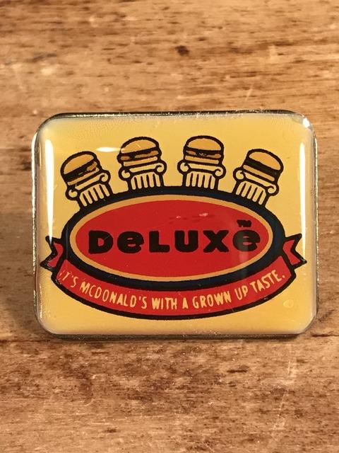"""Vintage McDonald's """"Arch Deluxe"""" Enamel Pins (1)"""