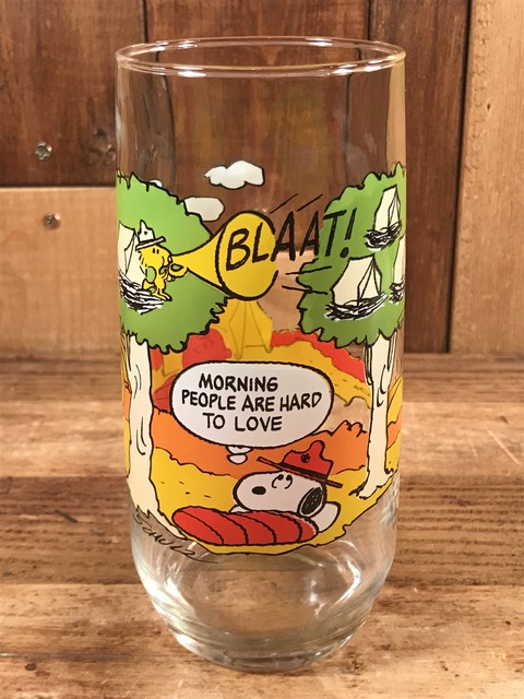 Vintage McDonald's Camp Snoopy Collection Glass (1)