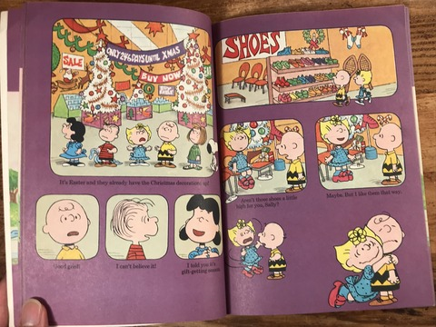 Vintage Peanuts Snoopy Picture Book (20)