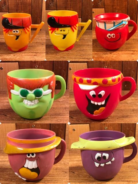"Vintage Pillsbury Funny Face ""Rubby Tutti Frutti"" Mug (3)"