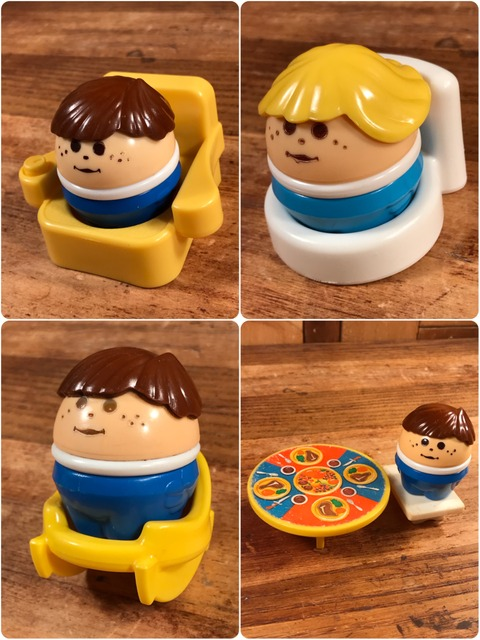 Vintage Little Tikes Toddle Tots Figure (5)