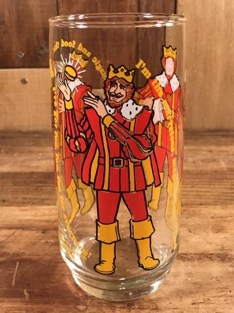 "Vintage Burger King Collectors' Series ""Burger King"" Glass (1)"