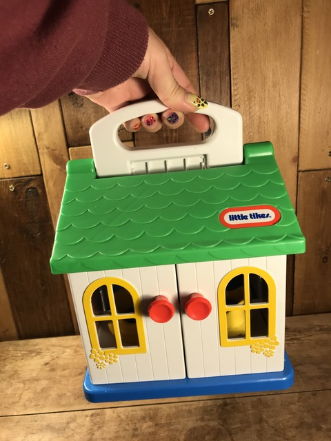Vintage Little Tikes Toddle Tots Play House (22)