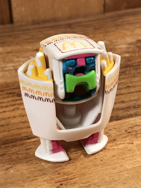 Vintage McDonald's New Food Changeables  Happy Meal Toy (15)