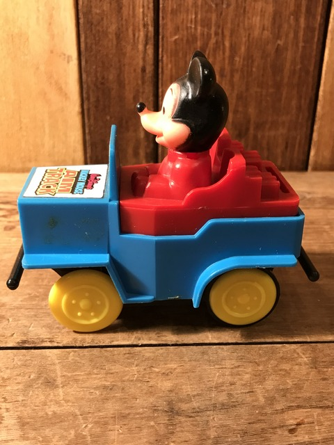vintage disney mickey mouse car toy (4)
