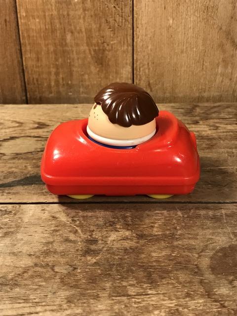 Vintage Little Tikes Toddle Tots Car & Boy Figure Set (4)