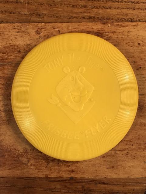 Vintage Kellogg Tony The Tiger Frisbee Flyer (1)