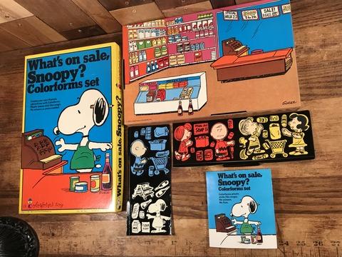 Vintage Colorforms Peanuts Snoopy Colorforms Set (10)