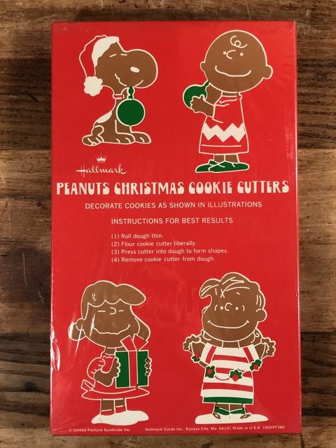 Vintage Hallmark Peanuts Snoopy Christmas Cookie Cutters (4)