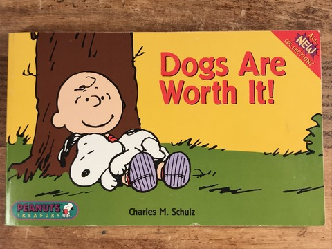"Vintage Peanuts Snoopy ""Dogs Are Worth It!"" Comic Book (4)"