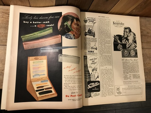 vintage 40's life magazine (341)