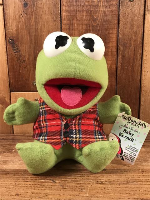 "Vintage McDonald's Muppet Babies ""Baby Kermit"" Plush Doll (1)"