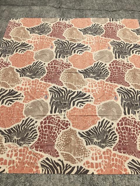 Vintage Camouflage Animal Twin Flat Sheet (1)