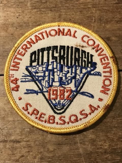 vintage fire police patch (175)