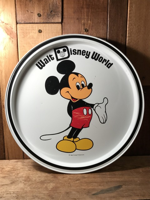 vintage disney world mickey mouse metal tray (85)