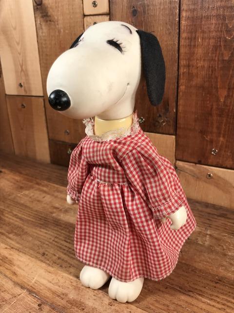 "Vintage Peanuts Snoopy ""Belle"" Fun & Fashion Dress Up Doll (2)"