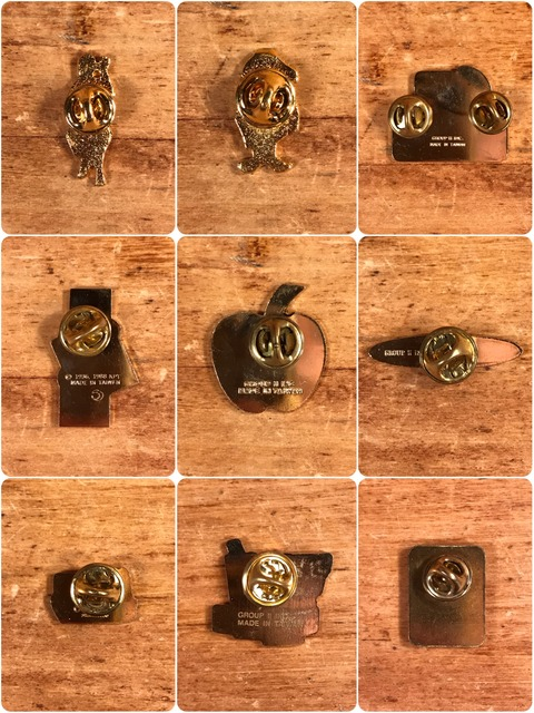 Vintage McDonald's Metal Pins (5)