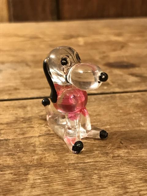 vintage snoopy peanuts crystal figure (19)