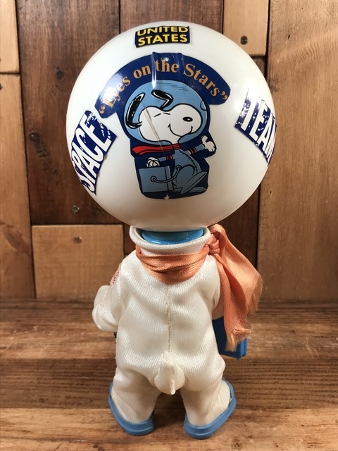 "Vintage Peanuts Snoopy ""Astoronaut"" Pocket Doll Figure (4)"