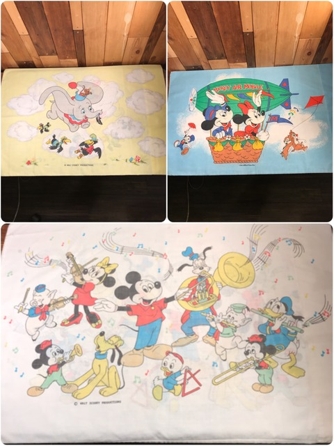 Vintage Disney Mickey Air Mobile Pillow Case