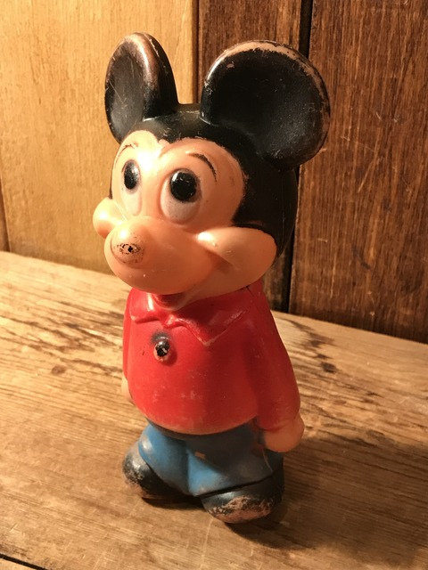 vintage disney mickey mouse bowling pin figure (3)