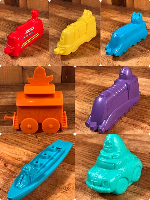 """Vintage McDonald's Little Engineer """"Ronald"""" Happy Meal Toy"""