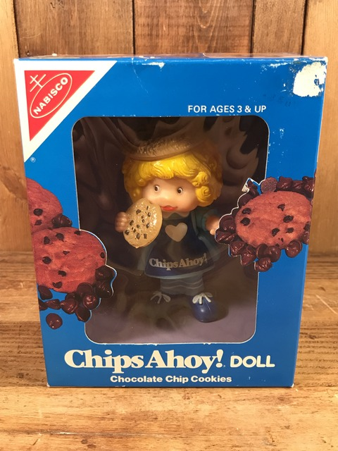 Vintage Nabisco Chips Ahoy! Doll (1)