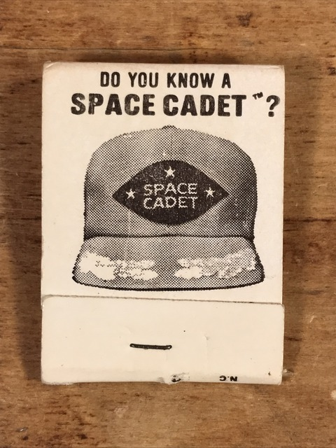 Vintage Do You Know A Space Cadet Matchbook (1)