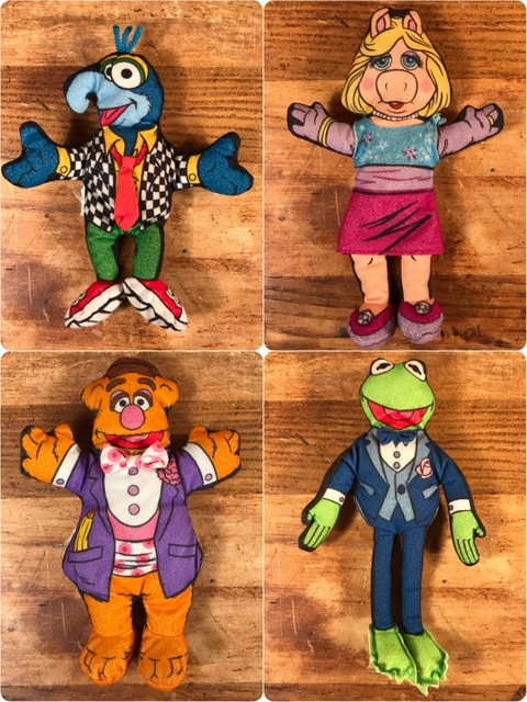 Vintage The Muppet Show Mini Cloth Doll
