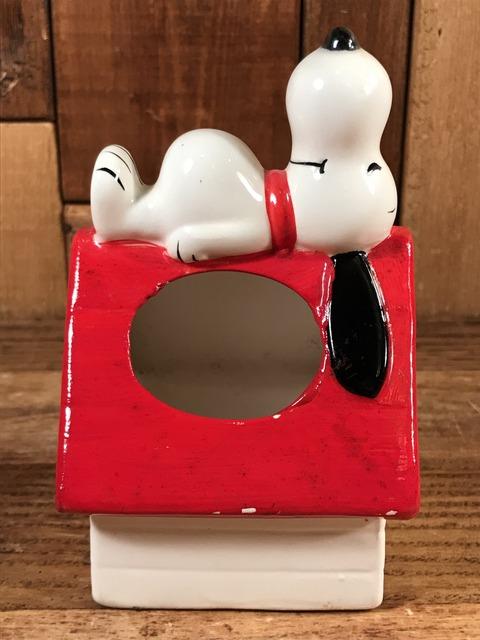 Vintage Peanuts Snoopy Ceramic Container (5)