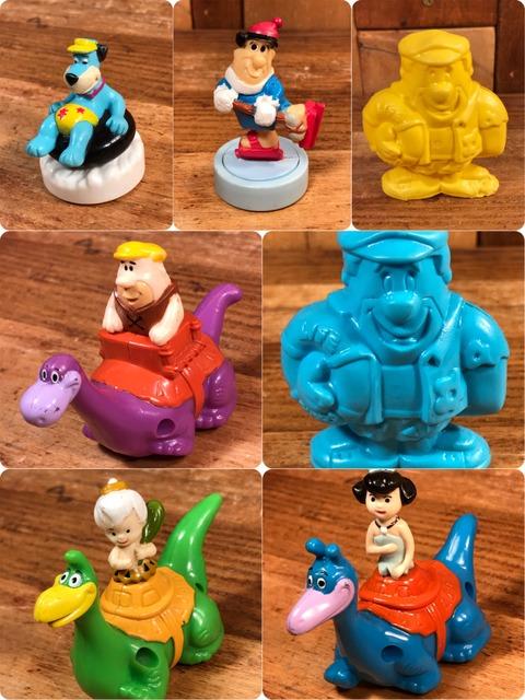 """Vintage Denny's Flintstones """"Barney"""" Meal Toy"""