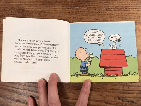 Vintage Peanuts Snoopy Picture Book (11)