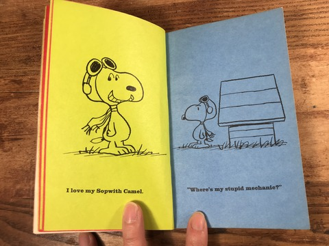 Vintage Peanuts Snoopy Picture Book (15)