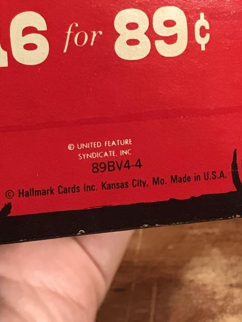 Vintage Hallmark Peanuts Snoopy Valentines Box (24)