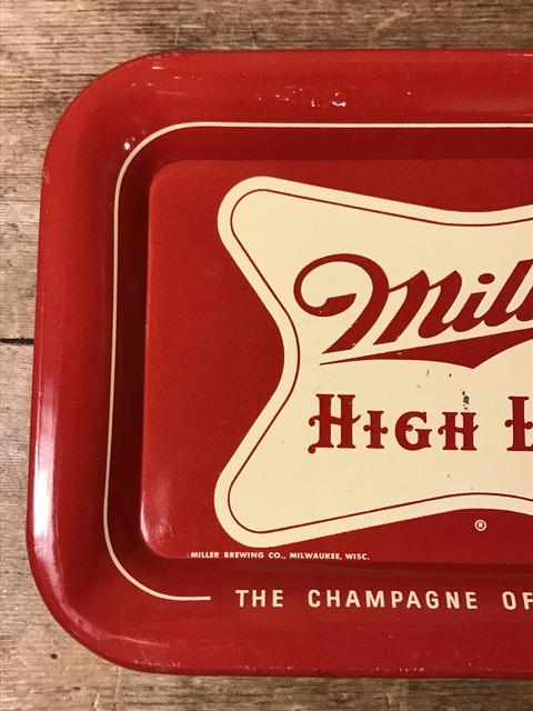 vintage miller high life tin tray (9)