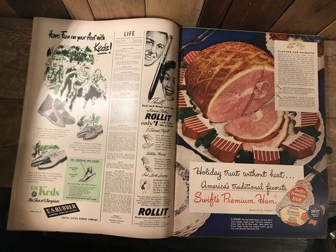 vintage 40's life magazine (100)