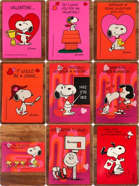 Vintage Hallmark Peanuts Snoopy Valentine Card