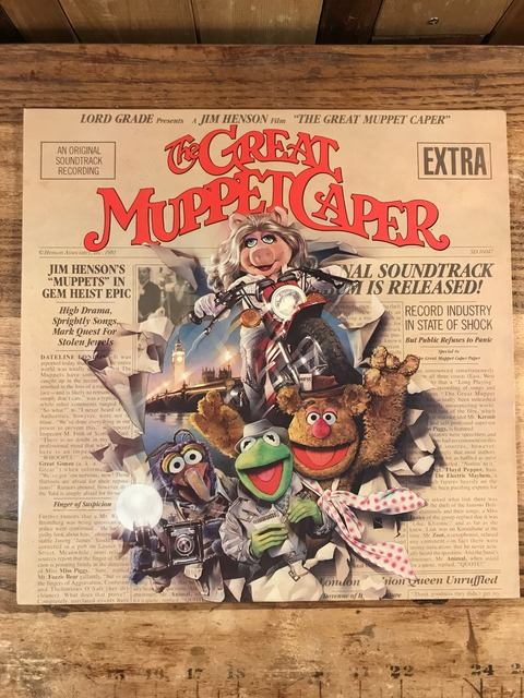 Vintage The Great Muppet Caper LP Record (1)