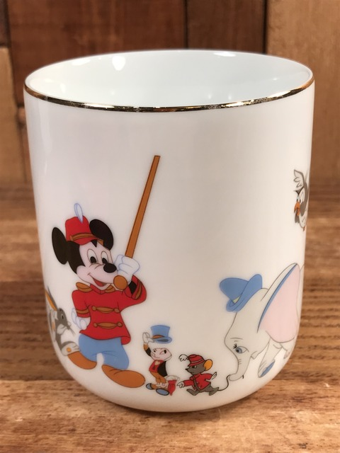 Vintage Disney Mickey Mouse March Ceramic Mug (1)
