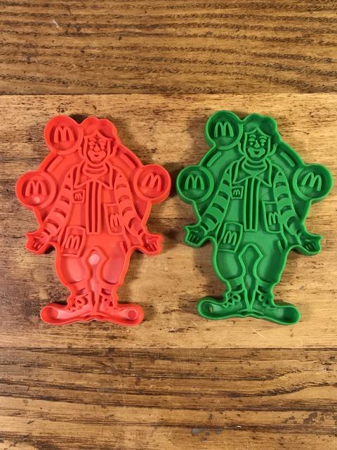 """Vintage McDonald's """"Ronald"""" Plastic Cookie Cutter"""